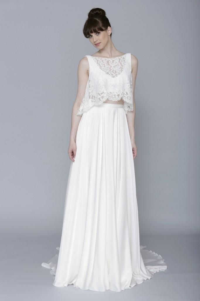 bfff8c3809af Ako sa vám páčili inšpirácie pre modernú nevestu  Odvážili by ste sa ukázať  bruško a kožu  Také moderné svadobné šaty sa nevidia na každej svadbe.
