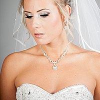 Elegantný šperk a závoj