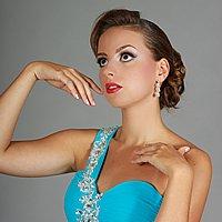 Spoločenské šaty na jedno rameno s čipkou